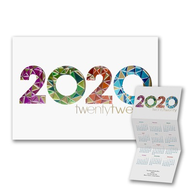 Calendar holiday cards calendar christmas cards business 2019 reheart Image collections